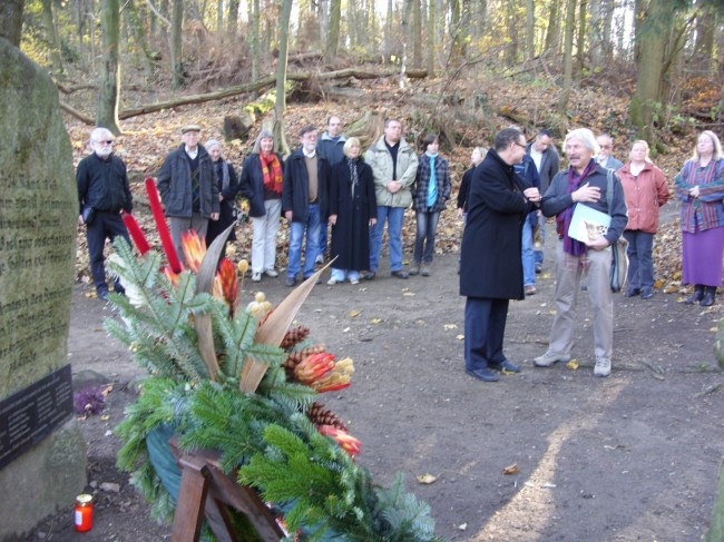 Geddenkveranstaltung am Kirchberg